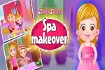Baby Hazel: Spa Makeover