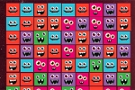 Funky Cube Monsters