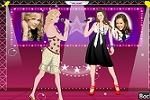 Hannah Montana and Taylor Swift