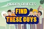 Hidden Objects: Find These Guys