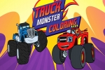 Monster Truck Coloring