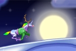 Robot Unicorn Attack Christmas