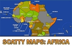 Scatty Maps: Africa